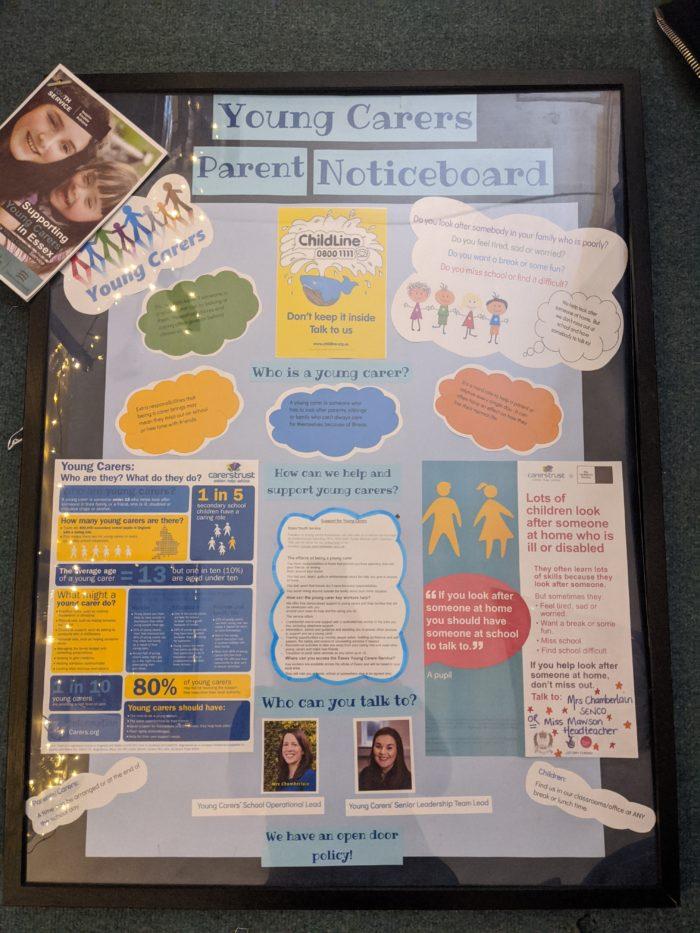 Young Carers Parent Noticeboard